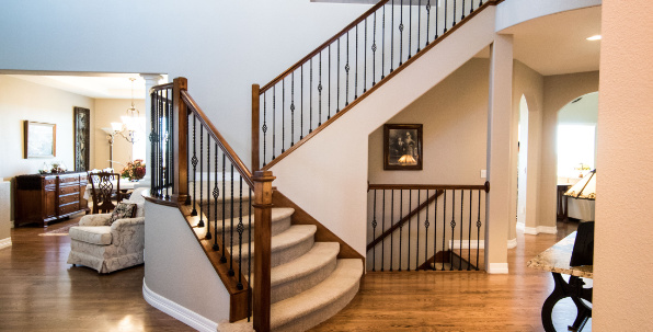 Stair cleaning in South Portland, Maine